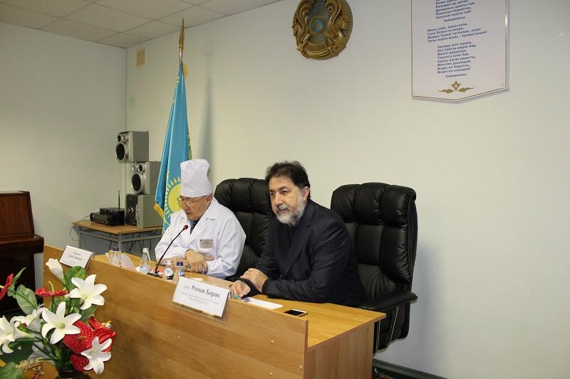 Израильские онкологи посетили Петропавловск