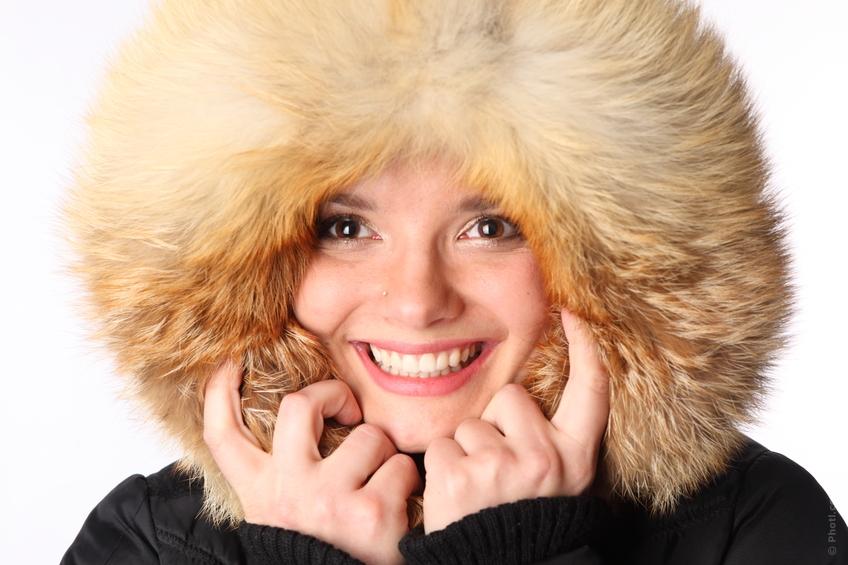 Зимний мороз приносит пользу людям