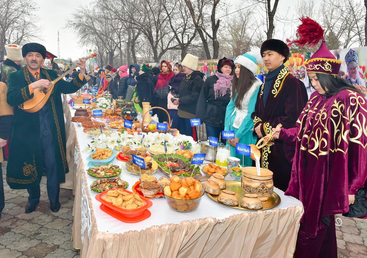 В северном Казахстане началось празднование Наурыз мейрамы