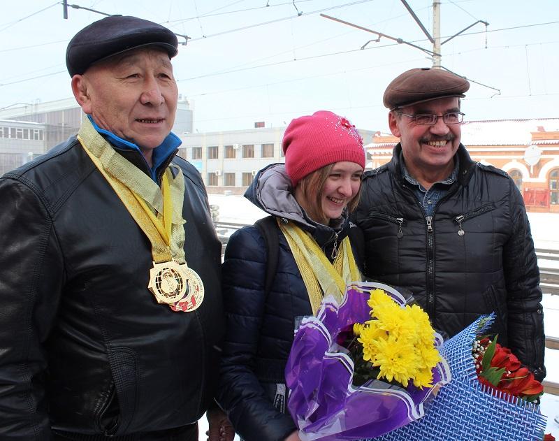 Североказахстанцы привезли золото Чемпионата мира