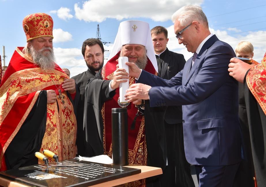 В Петропавловске началось строительство нового храма