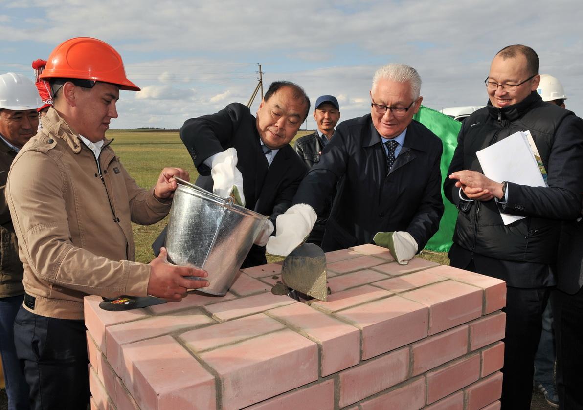В северном Казахстане строят завод по переработке масла