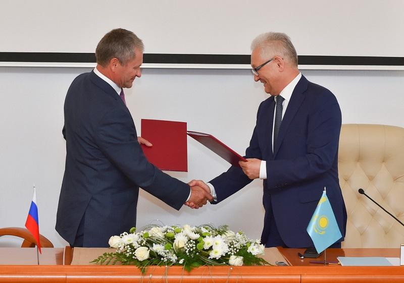 В Кургане подписали Дорожную карту с Петропавловском