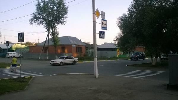 В Петропавловске установили новый пешеходный переход