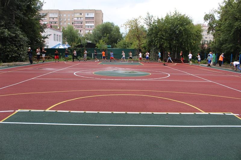 В Петропавловске строят уникальную  спортплощадку