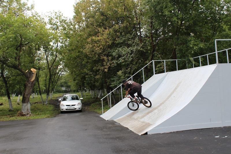 В Петропавловске появился BMX и скейт-парк