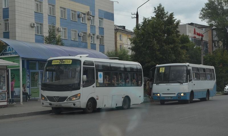 В Петропавловске не будет работать общественный транспорт в выходные дни