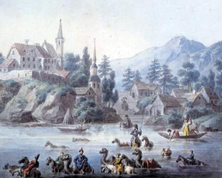 Ишимская линия: Петропавловск XVIII века глазами ученика Линнея