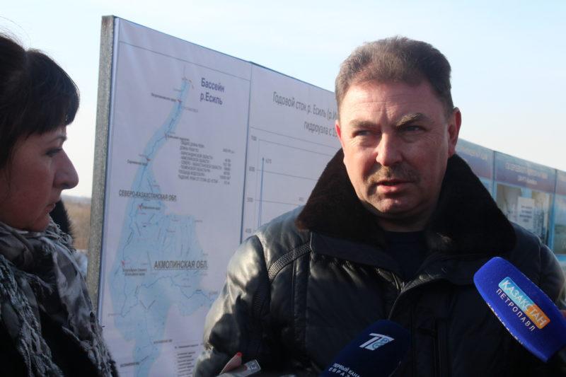 Заместитель министра МВД РК совершил облёт Северо-Казахстанской области