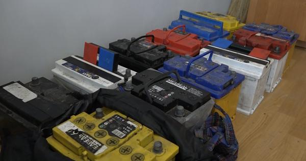 Видеокамеры помогли оперативно раскрыть серию краж аккумуляторов в Петропавловске