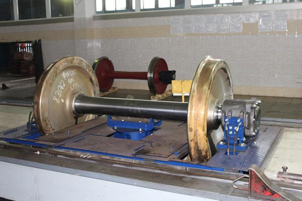 Завод на севере Казахстана выпускает ежемесячно  более 500  колесных пар