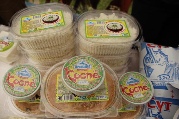 На севере Казахстана выпускают национальный продукт «Коспа»