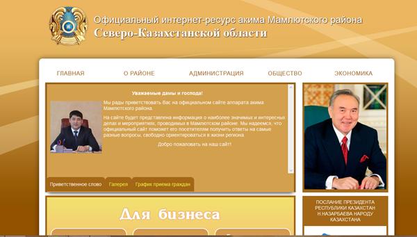 Аким СКО раскритиковал работу официальных сайтов районных акиматов