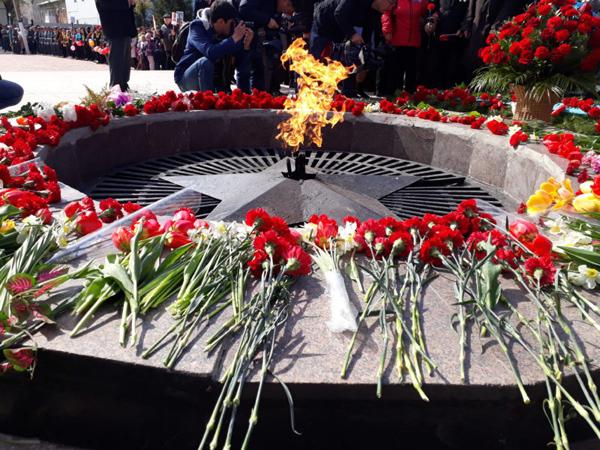 В Петропавловске празднуют День Победы (видео)