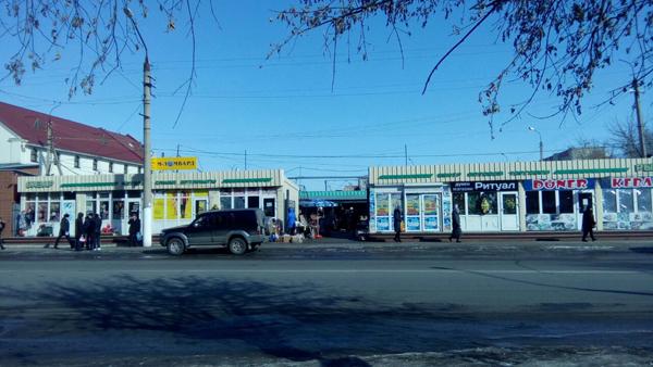В Петропавловске массово снесут торговые павильоны с «красной линии»
