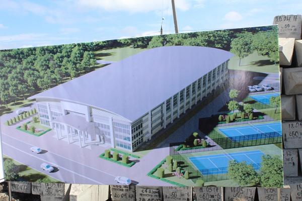 В Петропавловске началось строительство теннисного центра