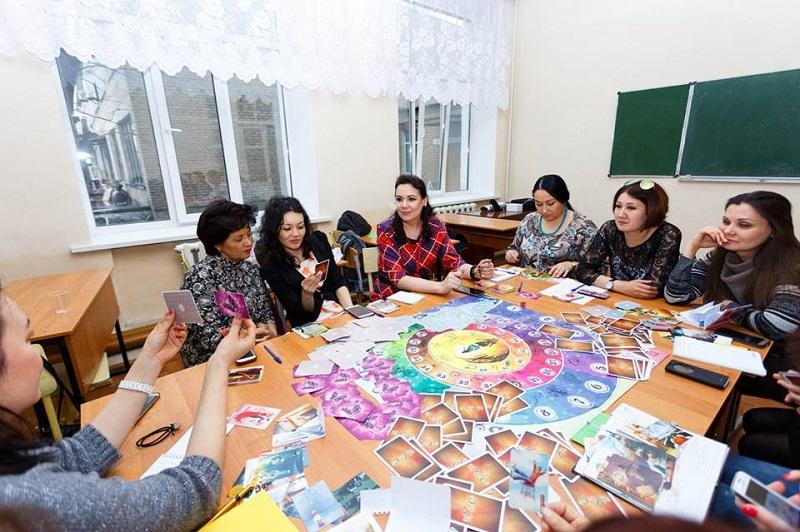 Настольные игры увлекли участников психологического фестиваля в Петропавловске