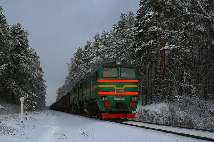 На севере Казахстана поезд будет делать остановку в поселке Булаево