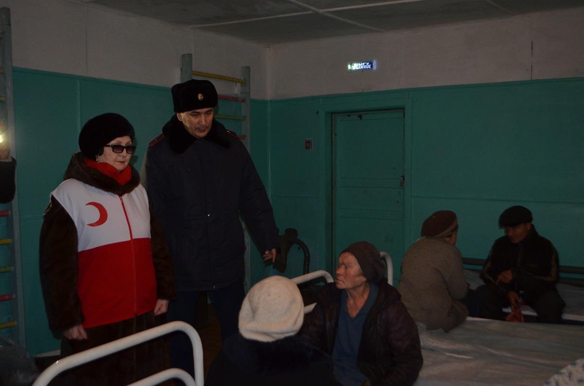 В Петропавловске начал работу пункт ночного пребывания для бездомных