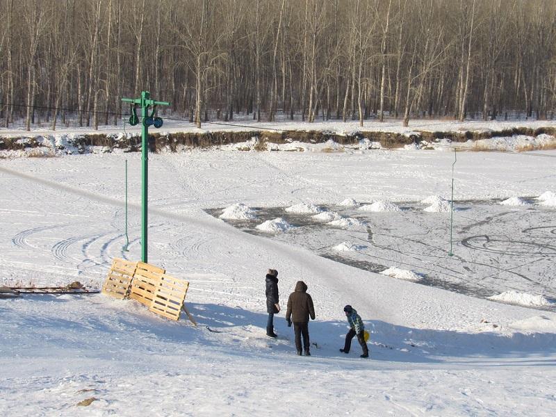 В Петропавловске открылся экстрим-парк (видео)