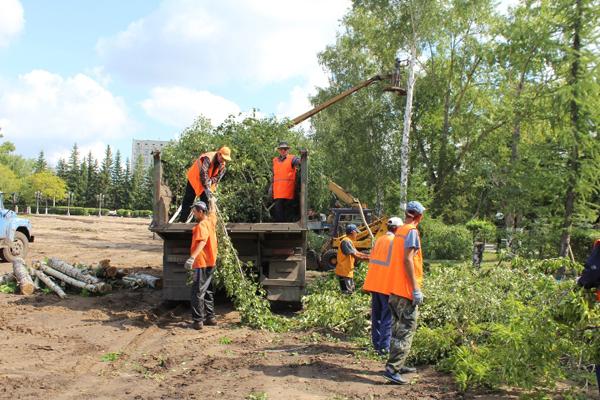 Кумар Аксакалов возмущен продажей земли в парковой зоне Петропавловска