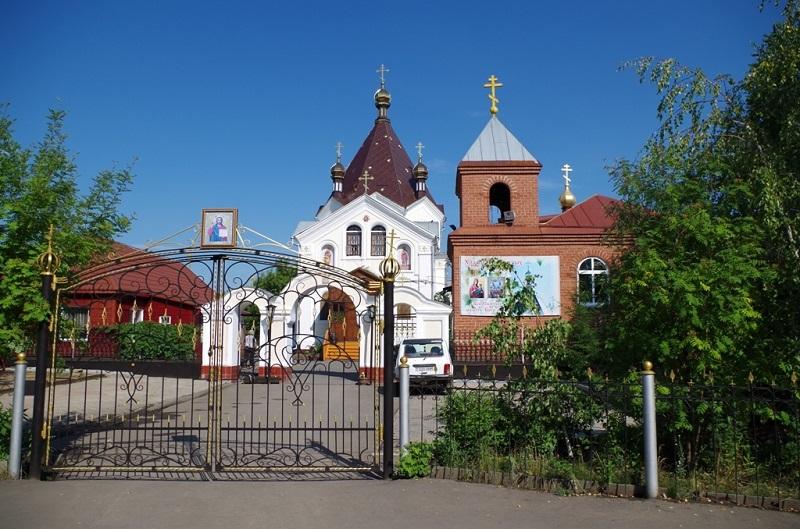 Зелёная церковь в Петропавловске