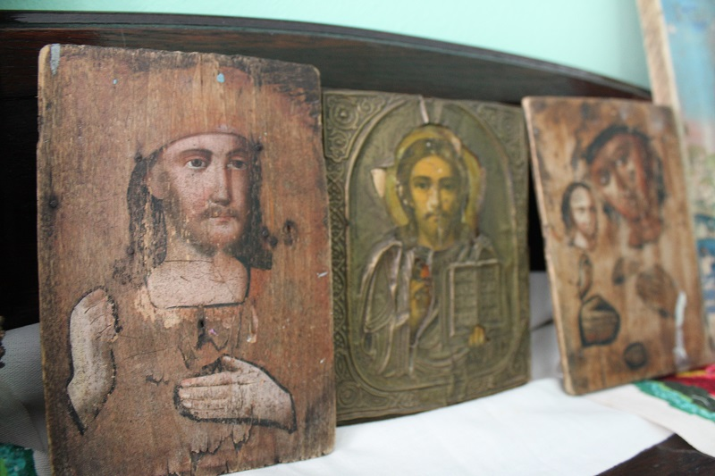 В Петропавловске представлены израненные иконы