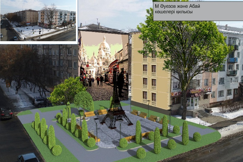 В Петропавловске хотят поставить Эйфелеву башню