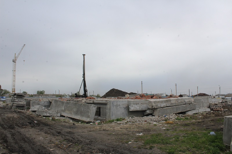 В Петропавловске сносят «дом дольщиков»