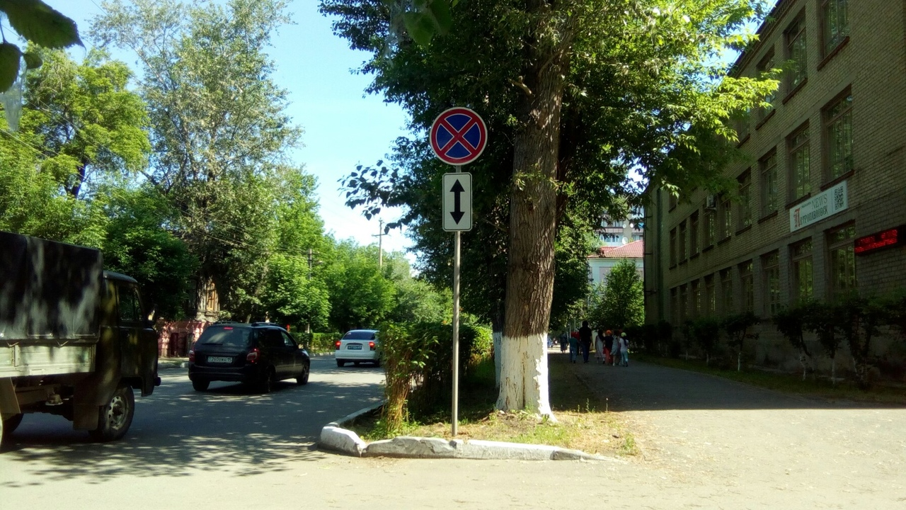 Полицейские объяснили запрет остановки на улице в центре Петропавловска