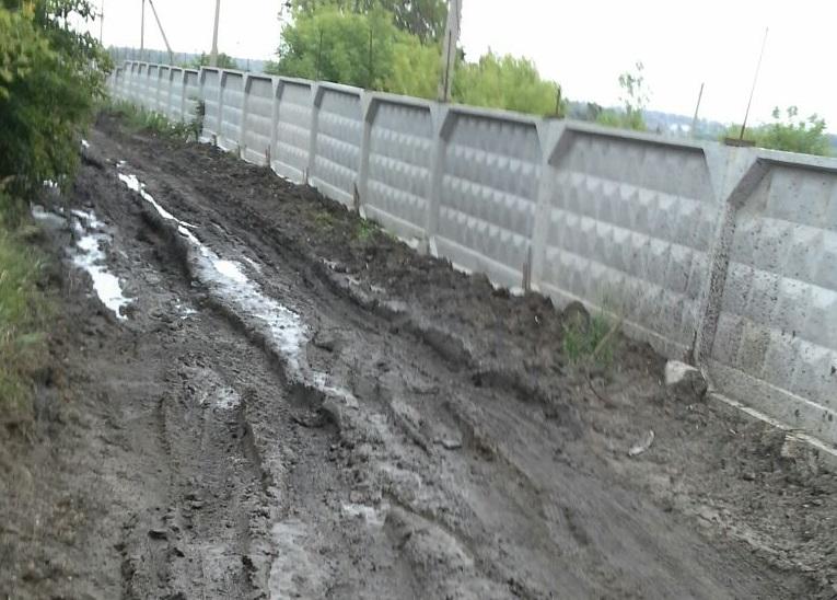 Жители Петропавловска страдают от непродуманного благоустройства