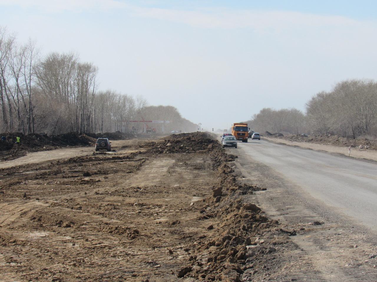 На севере Казахстана выделили рекордную сумму на ремонт дорог