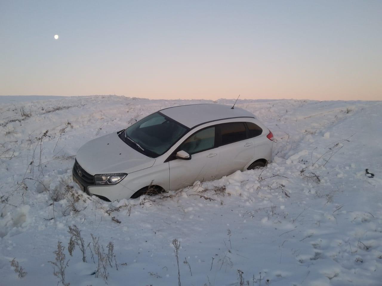 На севере Казахстана едва не замёрзли россияне  на трассе