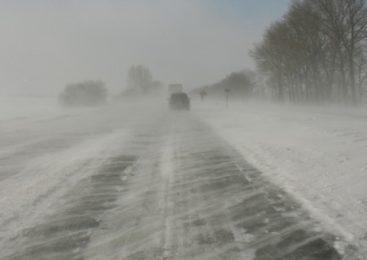На севере Казахстана обещают туман и метель