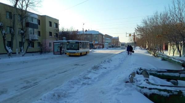 Жителям нового микрорайона Петропавловска не хватает автобусов