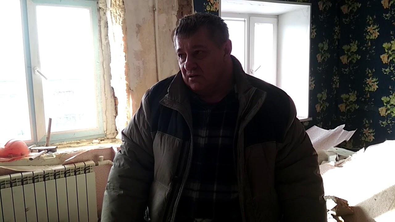 В Петропавловске жители пострадавшего от взрыва дома боятся ночевать (видео)