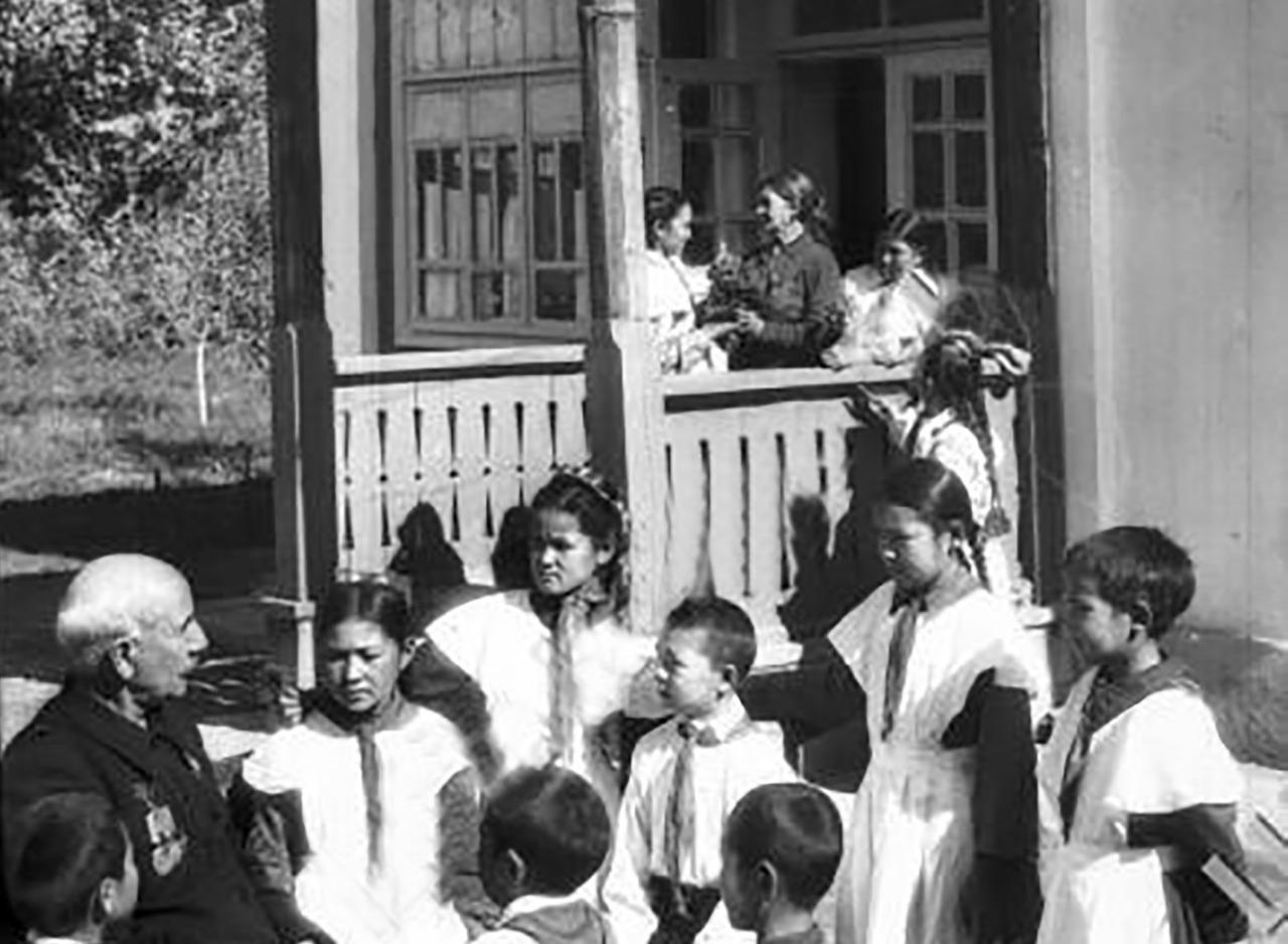 Ретро-Петропавловск: садики и школы