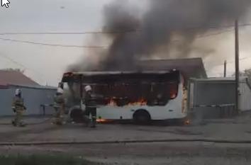 В Петропавловске назвали причины пожаров на общественном транспорте