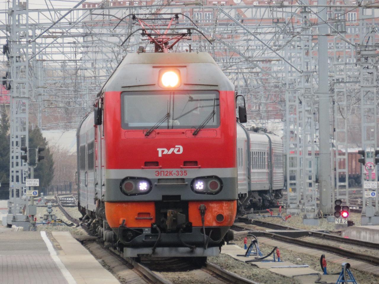 Российские железные дороги ввели ограничения по поездам в Казахстан