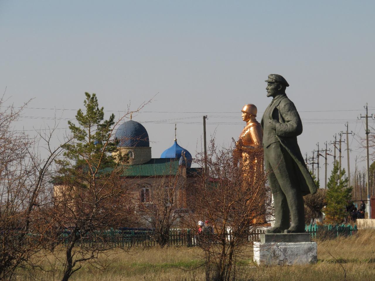 Тимирязево. Райцентр на краю Северного Казахстана