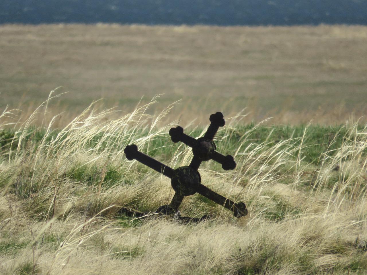 Тайна заброшенного кладбища в степи Северного Казахстана