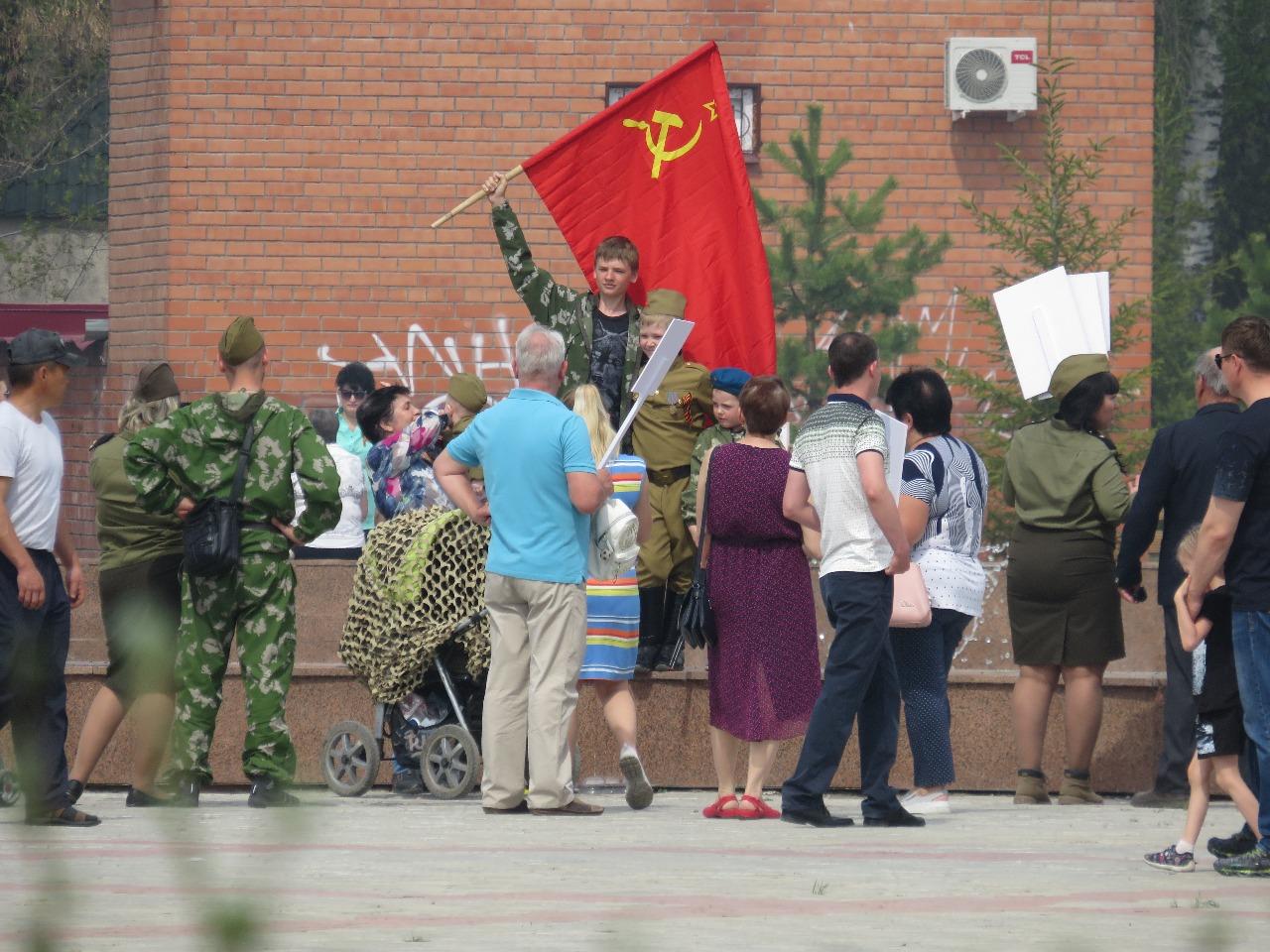 Как бессмертный полк в Петропавловске стал дивизией