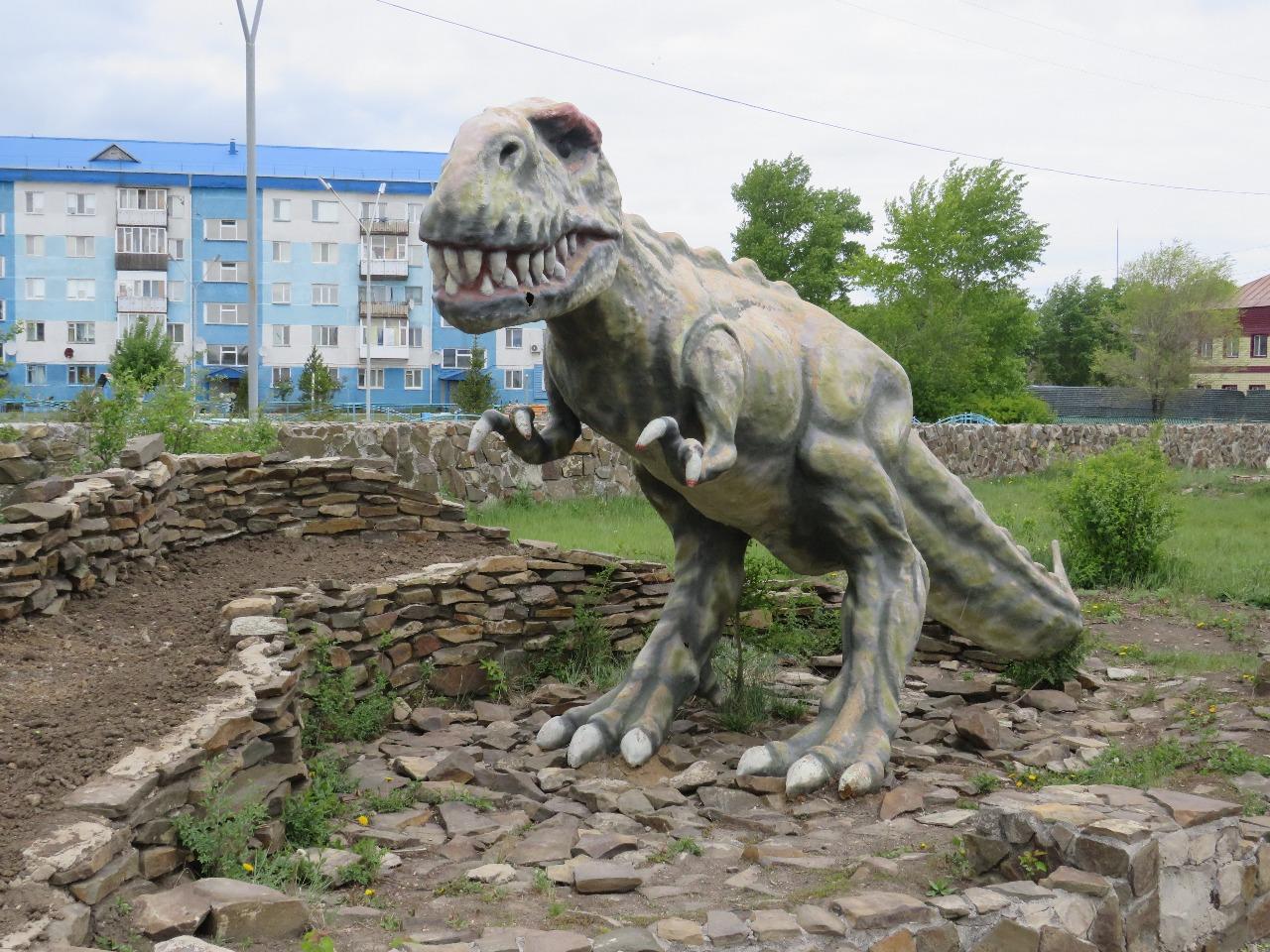 Динозавры Новоишимского периода