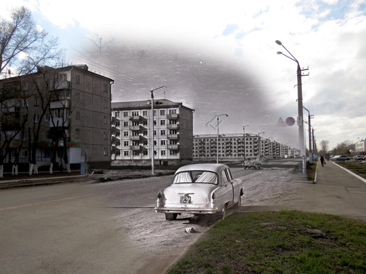 Ретро-Петропавловск: было-стало