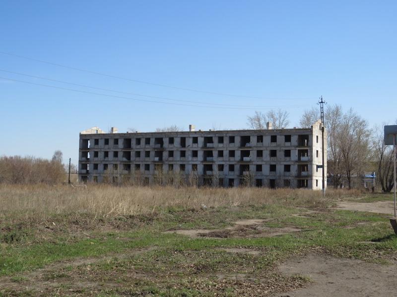 История одной фотографии: мёртвый дом в Сергеевке
