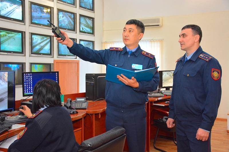На севере Казахстана увеличили количество уличных видеокамер