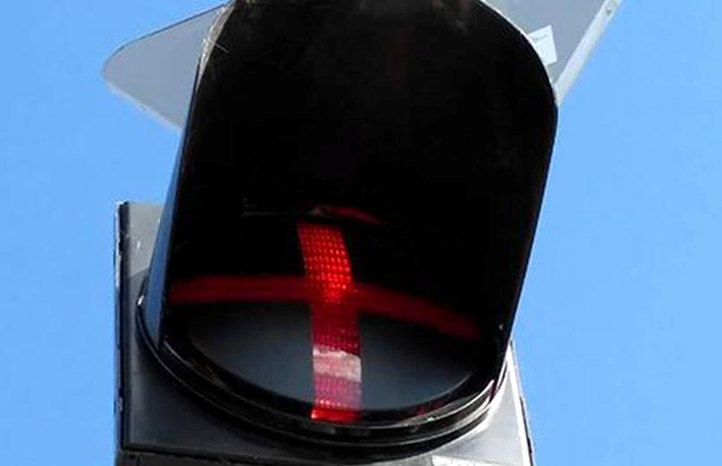 В Петропавловске появился ещё один светофор с «красным плюсом»