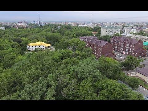 Петропавловский парк: зеленый взрыв в центре города
