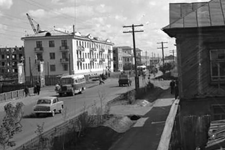 Неизвестная улица Петропавловска на фото