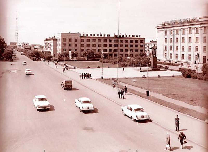Советская техника Петропавловска